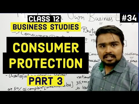 Class 12 business studies ( consumer protection act 1986 and NGO) Mind your own business video 34