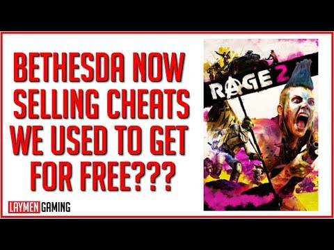 Inspired By Fallout 76 Cheating, Bethesda Tries To Monetise It In Rage 2 thumbnail