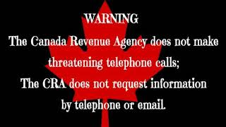 CRA Scam Officer Shawn Carter left me a voicemail