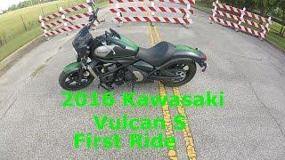 2016 Kawasaki Vulcan S First Ride | Review