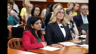 Rep. Padma Kuppa Testifies On Her Bill To Protect Vulnerable Adult