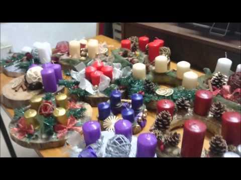 Kreativna radionica mladih Sopot - adventski vijenci
