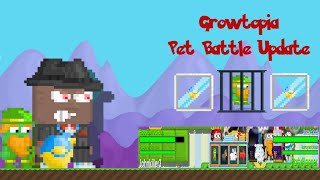 Growtopia Pet Battles Update Battle Cage Recipe Battle + Leash Recipe How to Fight