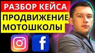 Кейс по продвижению бизнеса в социальных сетях. Реклама Мотошколы в соцсетях. Продвижение и СММ