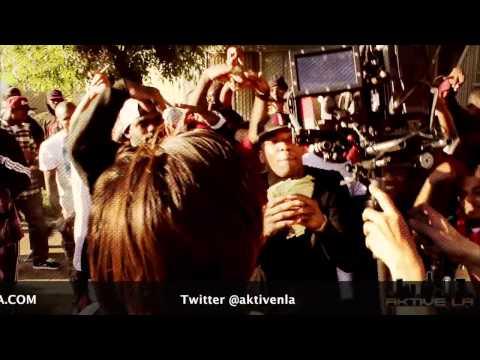 "New video YG feat Nipsey Hussle ""B!+c# You Broke"""