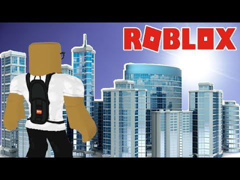 BUILDING MY OWN CITY IN ROBLOX