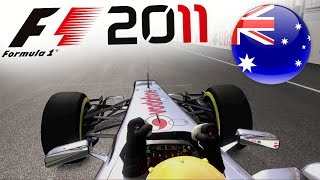 F1 2011 Career Mode Part 1: Melbourne, Australia