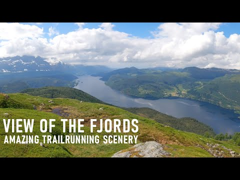 Virtual Treadmill Workout | Fantastic Norwegian Fjords | Nature Scenery | Treadmill Run / Walk