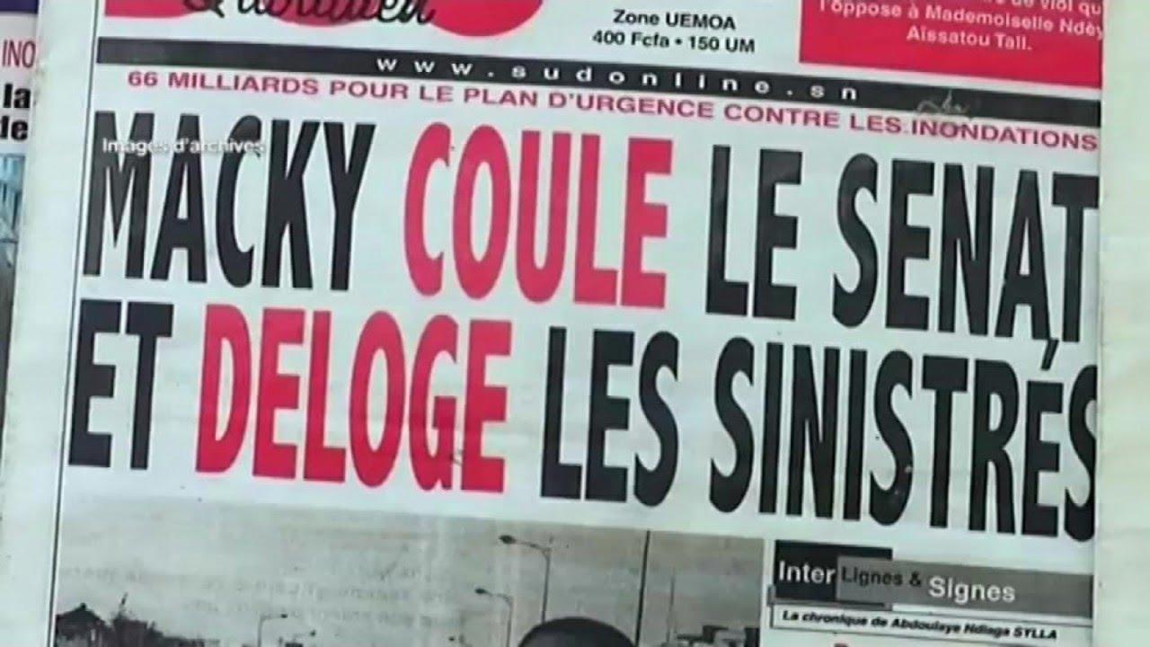 Sénégal, NOUVEAU CODE DE LA PRESSE