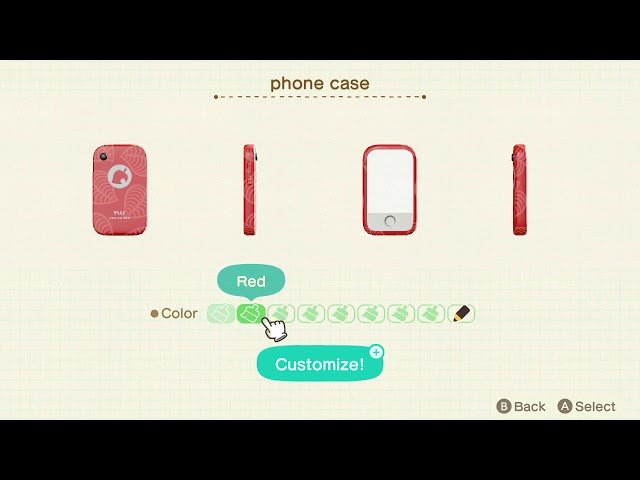 Animal Crossing New Horizons How To Change The Phone Case