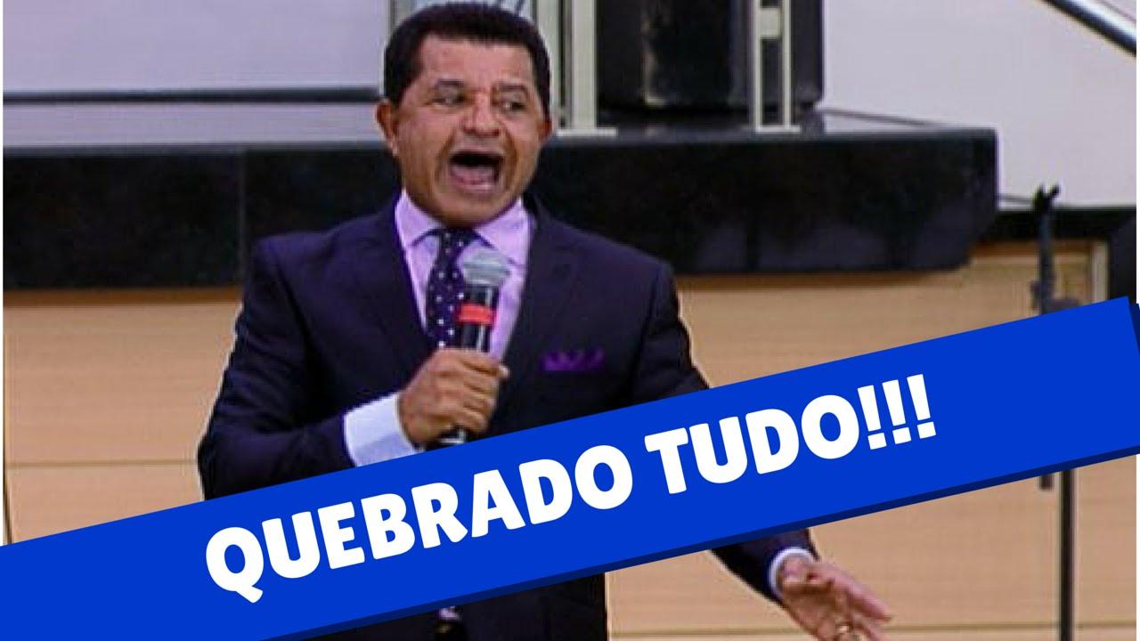 Pastor Abilio Santana - Quebrando Tudo na Igreja Batista - Pregação Evangélica Pr Abilio Santana