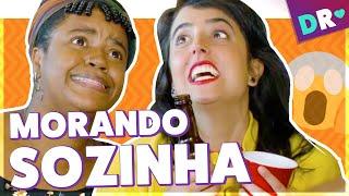 MORANDO SOZINHA: EXPECTATIVA vs REALIDADE e VIDA REAL de quem quer SAIR DA CASA DOS PAIS 😱