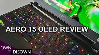 GIGABYTE AERO 15 OLED REVIEW - A CONTENT CREATOR'S DREAM
