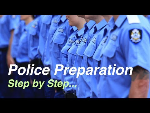 Becoming A Police Officer   Australia