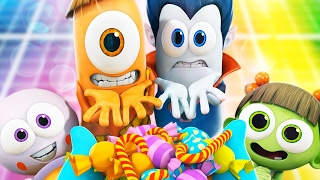Cartoon | Spookiz 45 MINUTE COMPILATION  | Funny Cartoons For Children