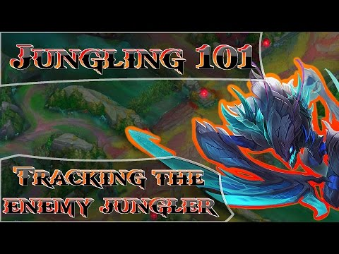 Tracking the Enemy Jungler - Jungle Basics