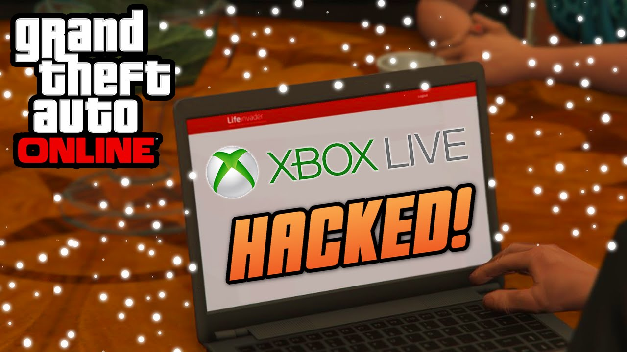 GTA 5 Online - HACKED! SERVERS ARE DOWN! (Lizard Squad Attacks Xbox Live)