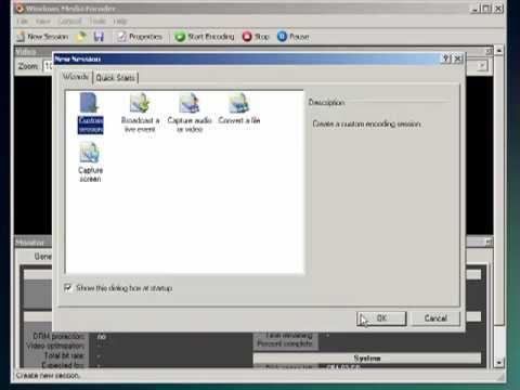 TV Con  Windows Media Encoder