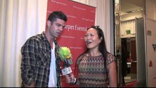 """Sterling Jones """"Very Good Girls"""" interview at Red Carpet Events LA Teen Choice Awards Lounge 2014 Thumbnail"""