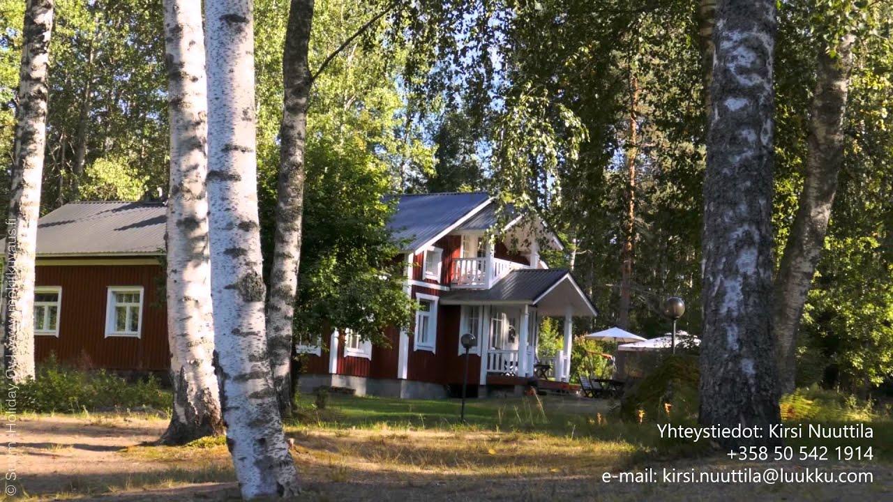 Villa Lakka Lomahuvila Valivaylan Varrella Luumaki Kannuskoski