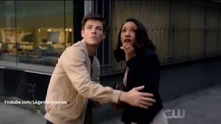 The Flash 4x04 Barry And Iris Almost Killed