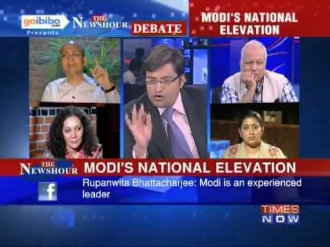 The Newshour Debate: Will it be Narendra Modi V/S Rahul Gandhi in 2014? (The Full Debate)