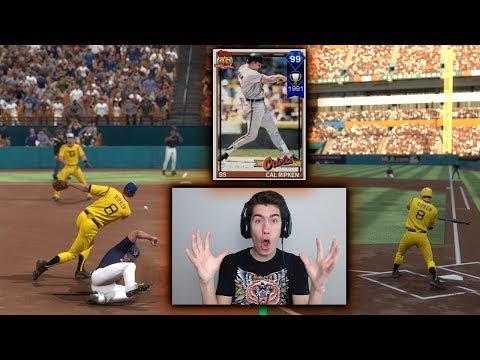 99 CAL RIPKEN JR DEBUT!! MLB The Show 17 |  Diamond Dynasty