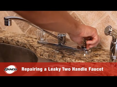 Danco How To Repairing A Leaky Two Handle Faucet