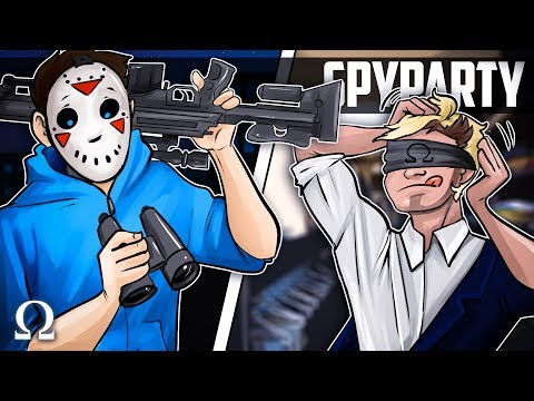 MYSTERIOUS & DELIRIOUS MIND GAMES! (NEW ROUNDS) | Spy Party #7 Funny Moments Ft. H2ODelirious