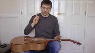 How to play Depth Over Distance By Ben Howard PART 2
