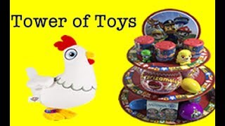 Paw Patrol Chickaletta's Tower of Toys Learning Colors