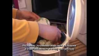 Мясо по-полонински с гарниром в мультиварке Panasonic SR-TMH10