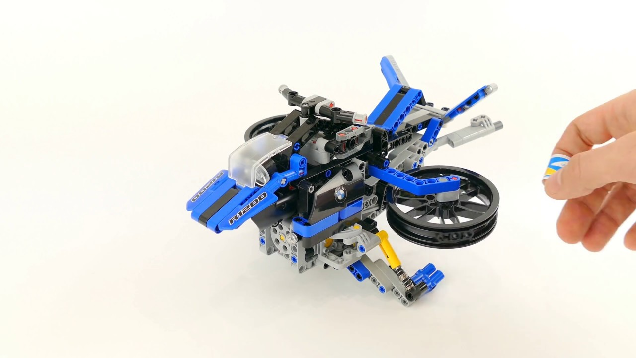 Bmw Concept Flying Hover Bike Lego Technic 42063