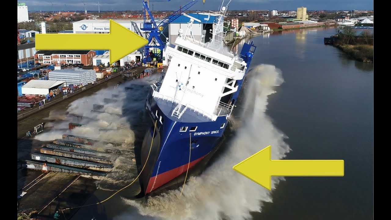 4K | Spectacular Big Ship Launch Compilation | 10 Awesome Ship Launches