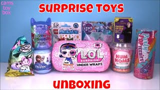 Lol Surprise DOLL NUM NOMS Sparkle Smoothie Unikitty My Little Pony Unboxing TOYS Review for KIDS