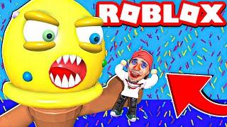 الايسكريم الشرير في لعبة روبلوكس   ROBLOX