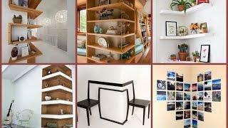 34 Corner Wall Decor Ideas, Designs, Remodels!!