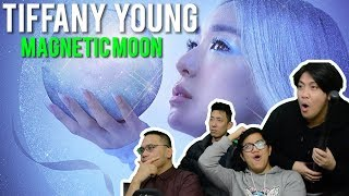 "TIFFANY YOUNG pulling us closer with ""MAGNETIC MOON"" (MV Reaction)"
