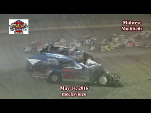 5-14-2016 Midwest Modifieds Cedar Lake Speedway