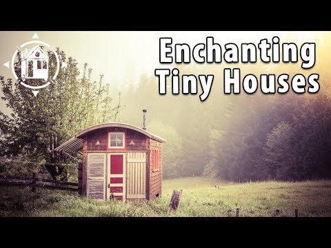 Fantasy Tiny Houses Designed by Artistic Carpenter