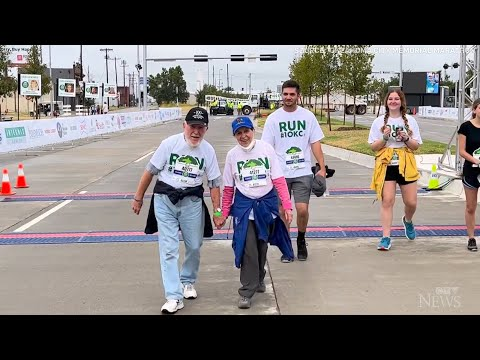 'Age is just a number': 100-year-old man and 92-year-old friend complete 5 km race