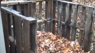 How To Build A Compost Bin From Pallets - Diy Compost Bin