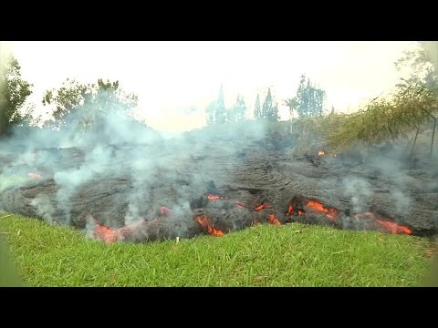 Puna lava flow from the 117th Mobile Public Affairs Detachment (Hawaii)