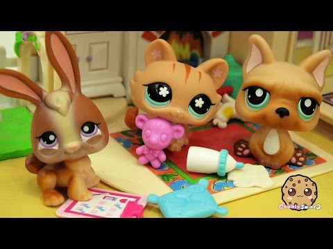 Baby Daddy Boot Camp – LPS Mommies Series Littlest Pet Shop  – Part 68 Cookieswirlc Video