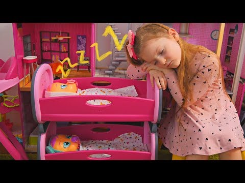Are You Sleeping Baby Dolls/ Sofia Pretend Play with Dolls/ Video for Kids