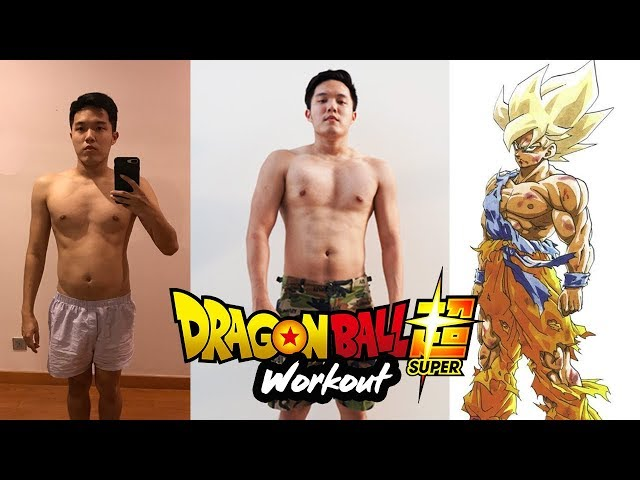 GOKU Real Life Training Routine I Dragon Ball Fitness SURPRISINGLY SIMPLE