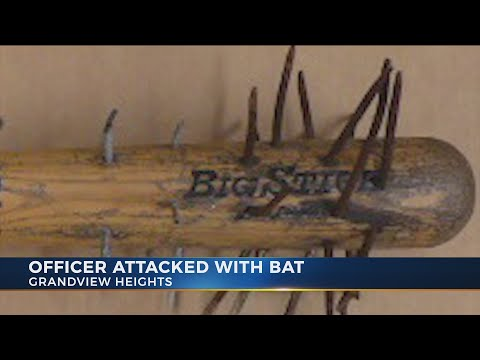 Man Accused Of Hitting Grandview Heights Police Officer With Spiked Bat