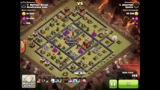 [Clash of Clans] QW Laloon | TH10 | 3star #057