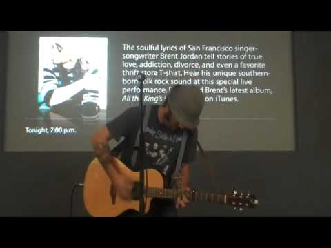 "brent jordan live at the apple store ""thrift store t-shirt"""