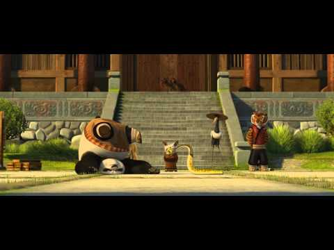 Kung Fu Panda fight with animals